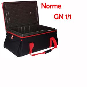 Conteneur transport alimentaire GN 1/1