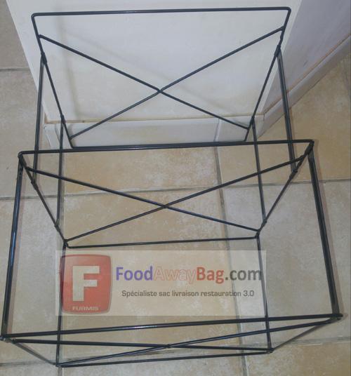 Armature pour sac de livraison 8 pizza