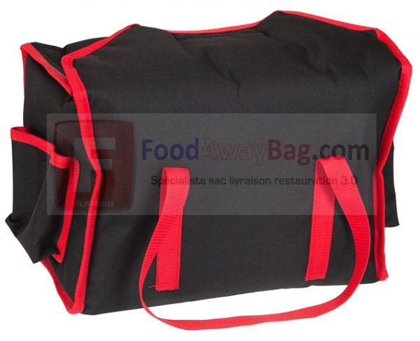 Sac de livraison professionnel pour 6 boites Lunch box isotherme ou chauffant