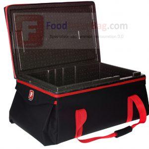 Sac de transport isotherme pour restaurant bac GN 1/1 REF : GN1/1-200T