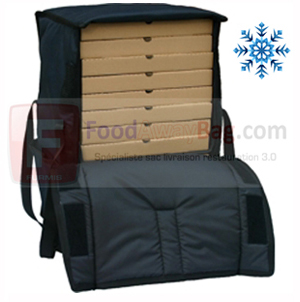 Grand Sac de transport isotherme pour 14 pizza