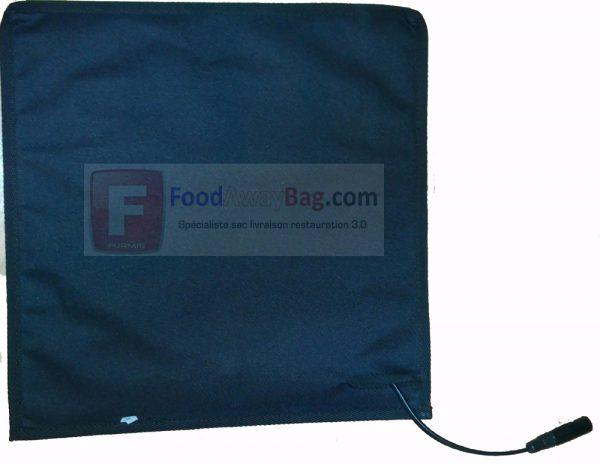 Plaque chauffante permettant de transformer nos sac isothermes en sac chauffants
