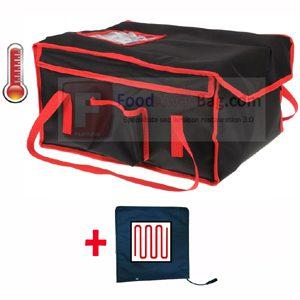 Sac livraison restauration rapide lunch Box isotherme et chauffant