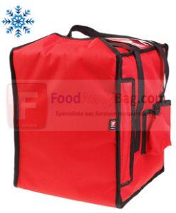 Grand sac à pizza, quantité 8-9 pizza disponible en version isotherme ou chauffant