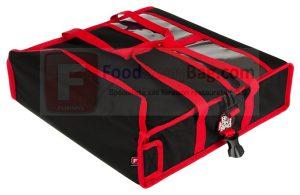 Sac transport isotherme 2 pizza avec système Bag-on-Bag pour empiler les sac de livraison