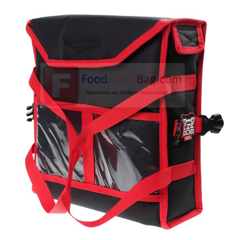 sac de livraison chauffant pour 2 pizzas 35 x 35 cm grossiste fran ais de sac de livraison. Black Bedroom Furniture Sets. Home Design Ideas