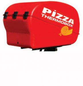 Caisse de livraison pizza pour scooter ou moto isotherme ou chauffant