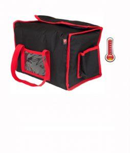 Sac Lunchbox chauffant et isotherme pour boite repas restaurant et traiteur