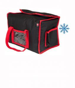 Sac Lunchbox isotherme pour boite repas restaurant et traiteur, livreur à vélo