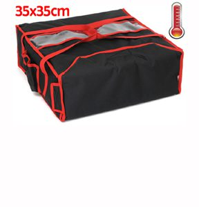 "Sac pizza chauffant pour boite 35 x 35 cm ""S"""