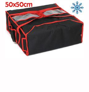 "Sac pizza isotherme boite 50 x 50 cm ""XL"""