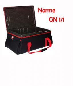 Sac de transport Normalisé pour pack de glace grossiste norme GN1/1