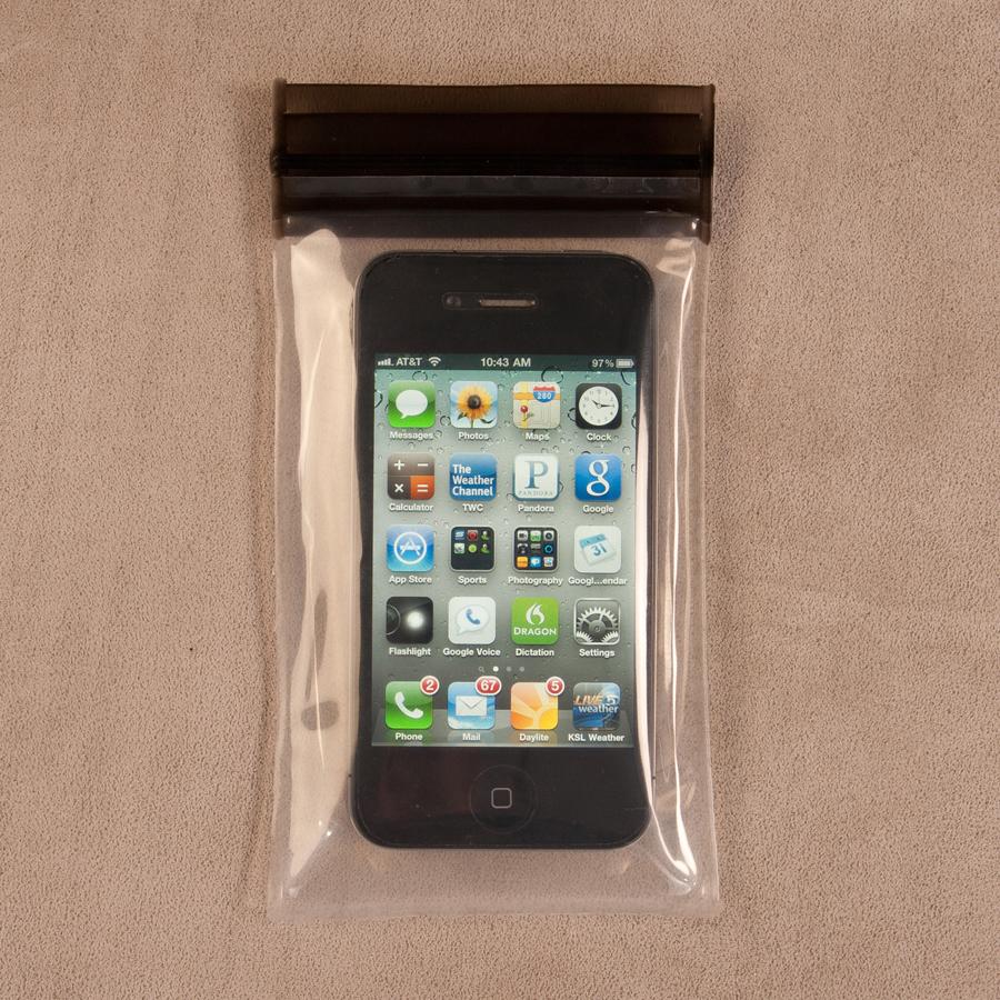 Housse tanche cuisinier taille s pour smartphone et for Housse etanche smartphone